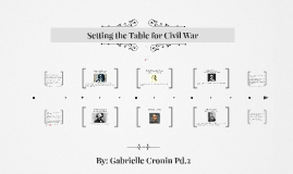Setting the Table for Civil War