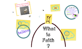 Copy of What is Faith?  Christian Education Bible Lesson