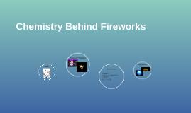 Chemistry Behind Fireworks
