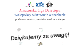 Copy of Amatorska Liga Dziecięca