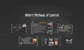 Hitler's Methods of Control