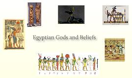 Egyptian Gods and Beleifs