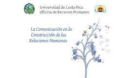 Comunicación y relaciones humanas clase 3