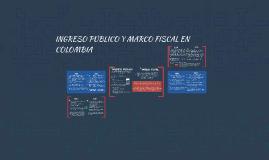 INGRESO PUBLICO Y MARCO FISCAL EN COLOMBIA