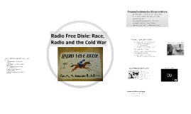 MS 190 Civil Rights and Radio Free Dixie