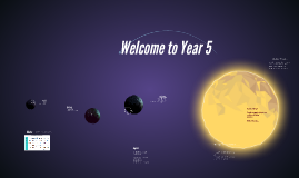 Welcome to Year 5