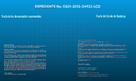 EXPEDIENTE No. 0501-04922-LCO