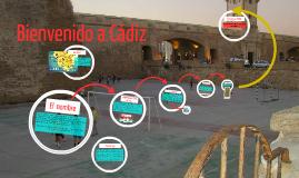 Bienvenido a Cadiz