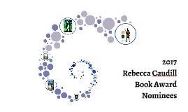 Copy of 2017 Rebecca Caudill Book Award Nominees