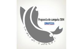Propuesta de campaña 2014 CONAPESCA-PIRATAS