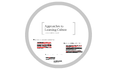 Approaches to Learning Culture