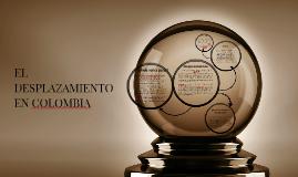 EL DESPLAZAMIENTO EN COLOMBIA
