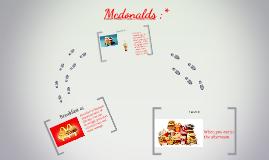 Mcdonalds ;*
