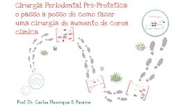 Cirurgia Periodontal Pré-Protética