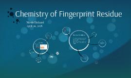 Chemistry of Fingerprint Residue