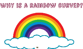 Why is a rainbow curved?