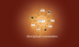 Aboriginal ceremonies