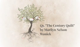 "Copy of Q1. ""The Century Quilt"" by Marilyn Nelson Waniek"