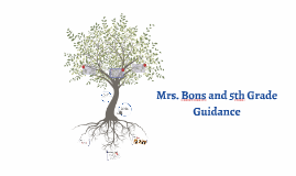 Mrs. Bons and 6th Grade Guidance