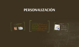 Copy of PERSONALIZACIÓN