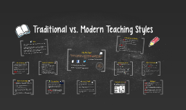 Copy of Traditional vs. Modern Teaching Styles