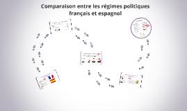 Comparaison entre les régimes politique française et espagno