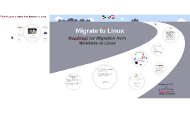 Windows to Linux Migration RoadMap