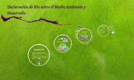 Copy of Declaración de Río sobre el Medio Ambiente y Desarrollo