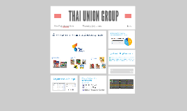 THAI UNION GROUP PUBLIC Co., Ltd.