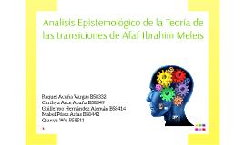 Analisis Epistemológico de la Teoría de las transiciones de
