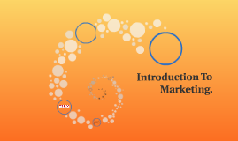 Introduction To Marketing.