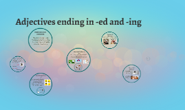 Copy of Adjectives ending in -ed and -ing