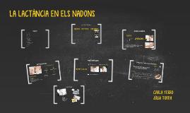 EXPOSICIÓ TDR: LA LACTÀNCIA EN ELS LADONS