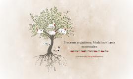 Copy of Procesos cognitivos: Modelos y bases neuronales