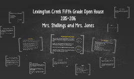 Copy of Fifth Grade Open House