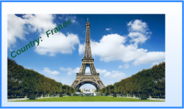 Country:  France