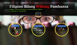 FILIP 11: Komunikasyon sa Akademikong Filipino