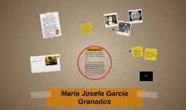 Copy of María Josefa García Granados