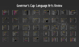 Governor's Cup: Language Arts Review