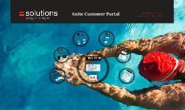 Anite Customer Portal