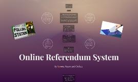 Online Referendum System