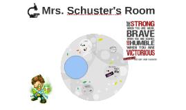 Mrs. Schuster's Room