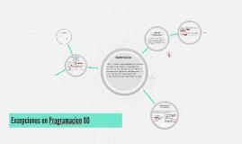 Copy of Excepciones Programacion Orientada a Objetos