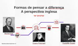 Formas de pensar a diferença: a perspectiva inglesa