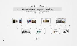 Hudson Bay Company Timeline