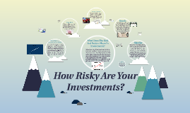 How Risky are your Investments?