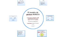 El modelo de gestion MUISCA