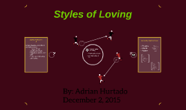 Styles of Loving