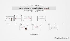 Copy of Historia de la psicología en brasil