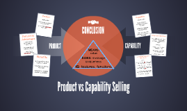 Product vs Capabilities Selling